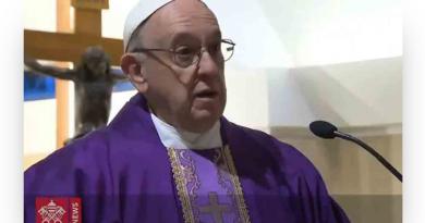 """Papa Francisco: """"O meu jejum ajudará os outros? Se não, é fingido e incoerente"""""""