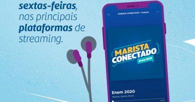 Colégio Marista Araçagy oferece lives e podcasts abertos ao público para auxiliar na preparação para o Enem