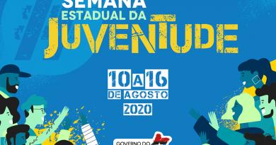 Com atividades virtuais sobre educação, tecnologia e cultura, Semana Estadual da Juventude 2020 começa nesta segunda (10)