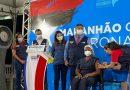 Profissionais de saúde e mulher indígena são as primeiras pessoas vacinadas contra o coronavírus no Maranhão