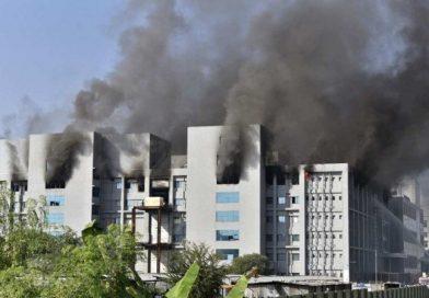 Incêndio atinge instituto na Índia que fabrica vacina de Oxford; imunizantes não foram afetados