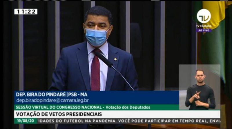 Bira do Pindaré é o único deputado federal do MA que participou de todas as sessões em 2020