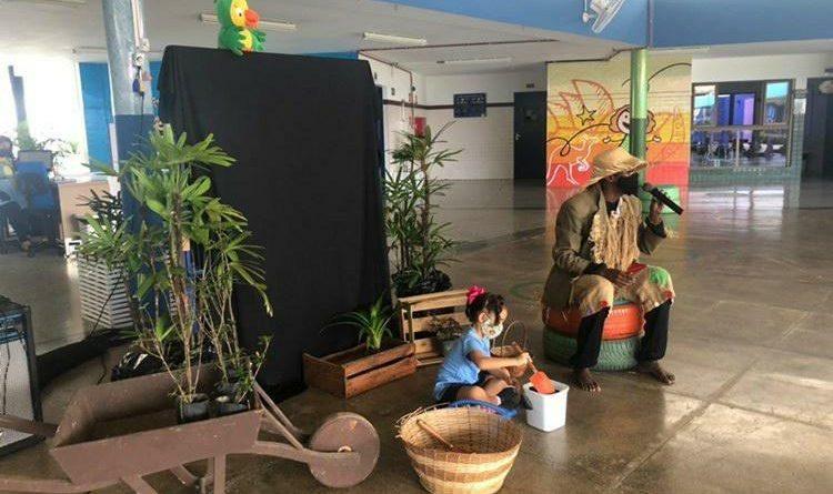 Colégio Marista Araçagy oferece projeto Horta para alunos da Educação Infantil ao 1º ano do Ensino Fundamental I