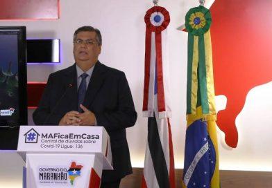 Flávio Dino anuncia suspensão de eventos em todo o MA e mudança no horário de funcionamento do comércio em SL por 10 dias