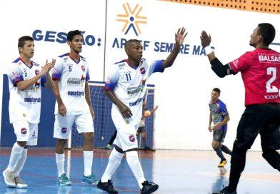 ESPORTE: Balsas, Cruzeiro e Atlef avançam às quartas do Maranhense de Futsal