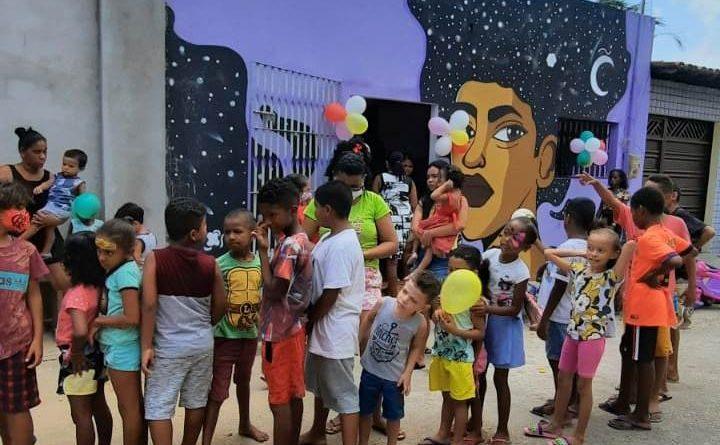 Projeto Juventude Cirandeira garante dia de diversão para crianças da comunidade Vila São Luís