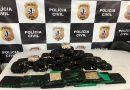 Polícia apreende cerca de 34 quilos de crack em São Bernardo; droga estava envolta em pó de café